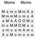 Wortgitter - Mama Momo