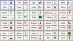 Lauttreue Wörter (Wort und Bild)