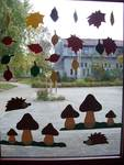 Herbstfensterbild