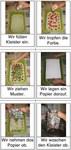 Anleitung mit Bildern zum Marmorieren mit Papier