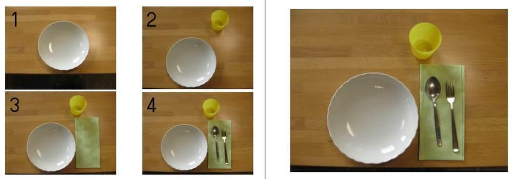 Tischdecken - Fotoanleitung