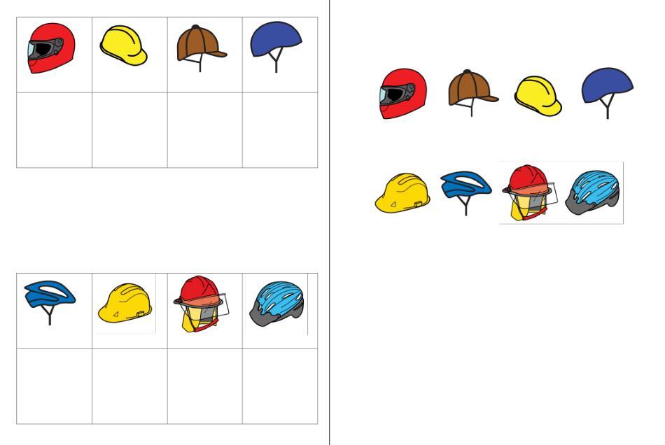 Aufgabenmappe - Helme