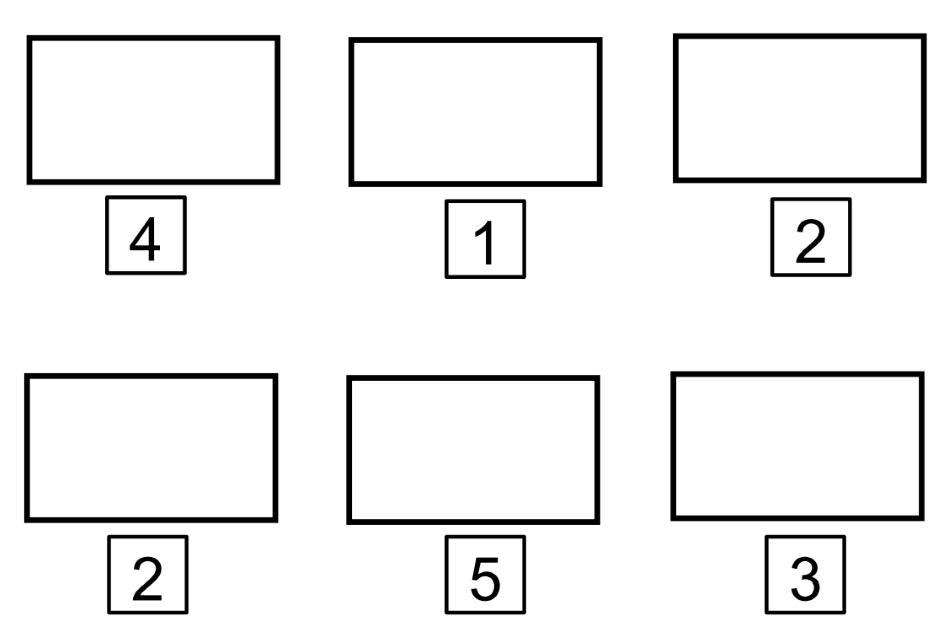 Menge - Zahl - Zuordnung ZR 5