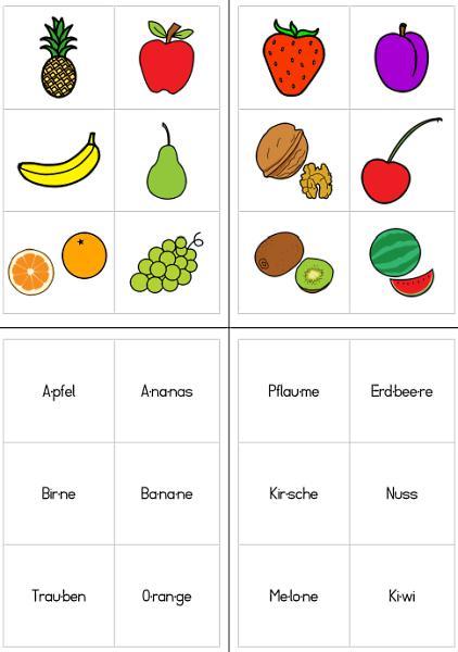 Silbenlesen mit Obst