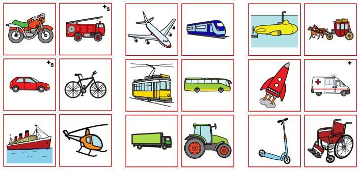 Memorie - Fahrzeuge