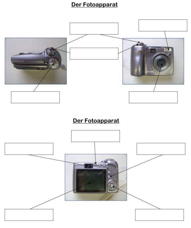 Fotoapparat - Aufbau