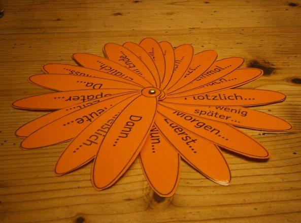 Satzanfangsblume