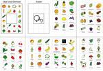 Bildkärtchen zur Sprachförderung - Obst und Gemüse