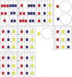 Mengen - Zahlen - Zuordnung mit Steckbausteinen