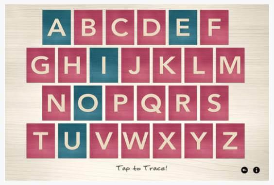 Einführung in die Buchstaben - Montessori