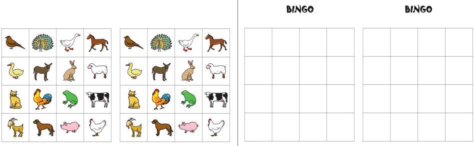 Tier-Bingo