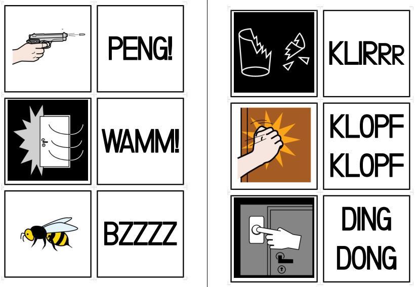 Comic - Geräuschwörter