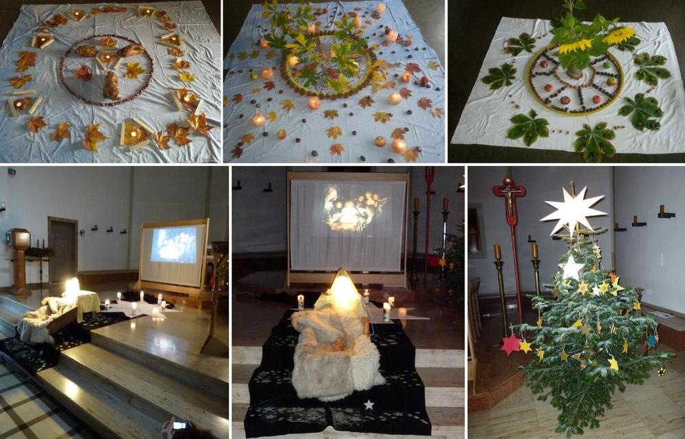 Den Herbst mit allen Sinnen erleben + Weihnachtsgottesdienst