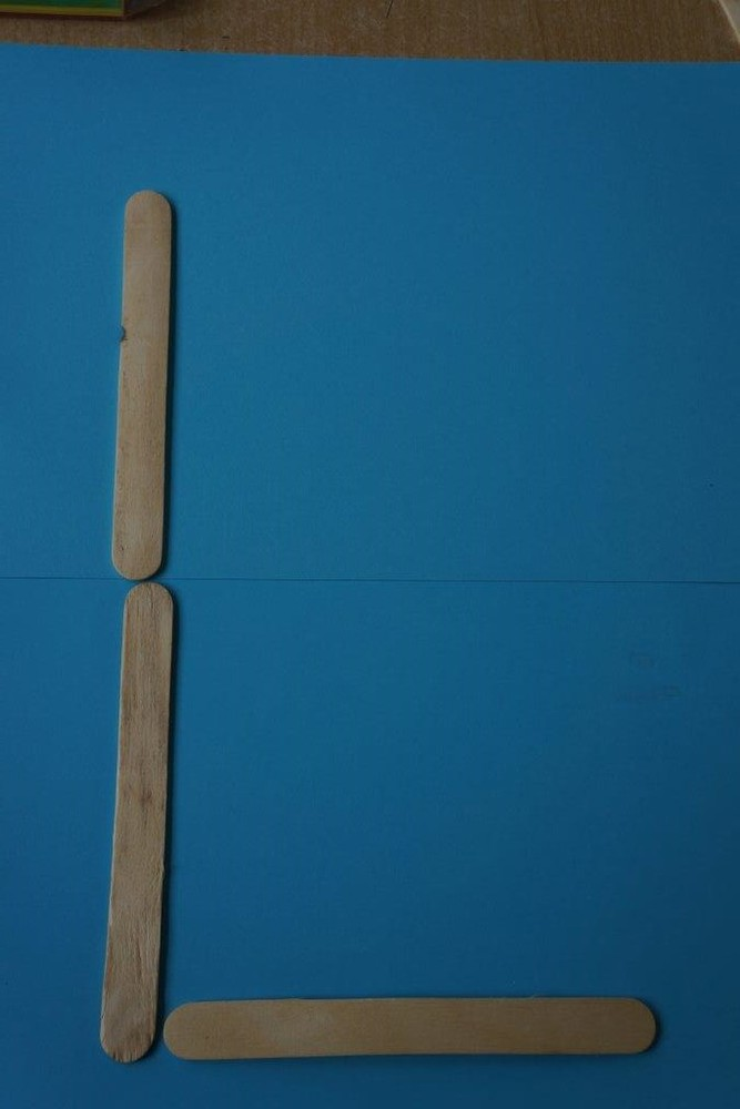 Holzspatel Buchstaben