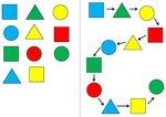 Aufgabenmappe - Form-Farb-Zuordnung