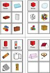 Lerntheke - Geometrische Körper - Würfel, Kegel, Kugel, Quader, Pyramide, Prisma, Zylinder