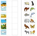 Aufgabenmappe - Tiere und ihre Lebensräume